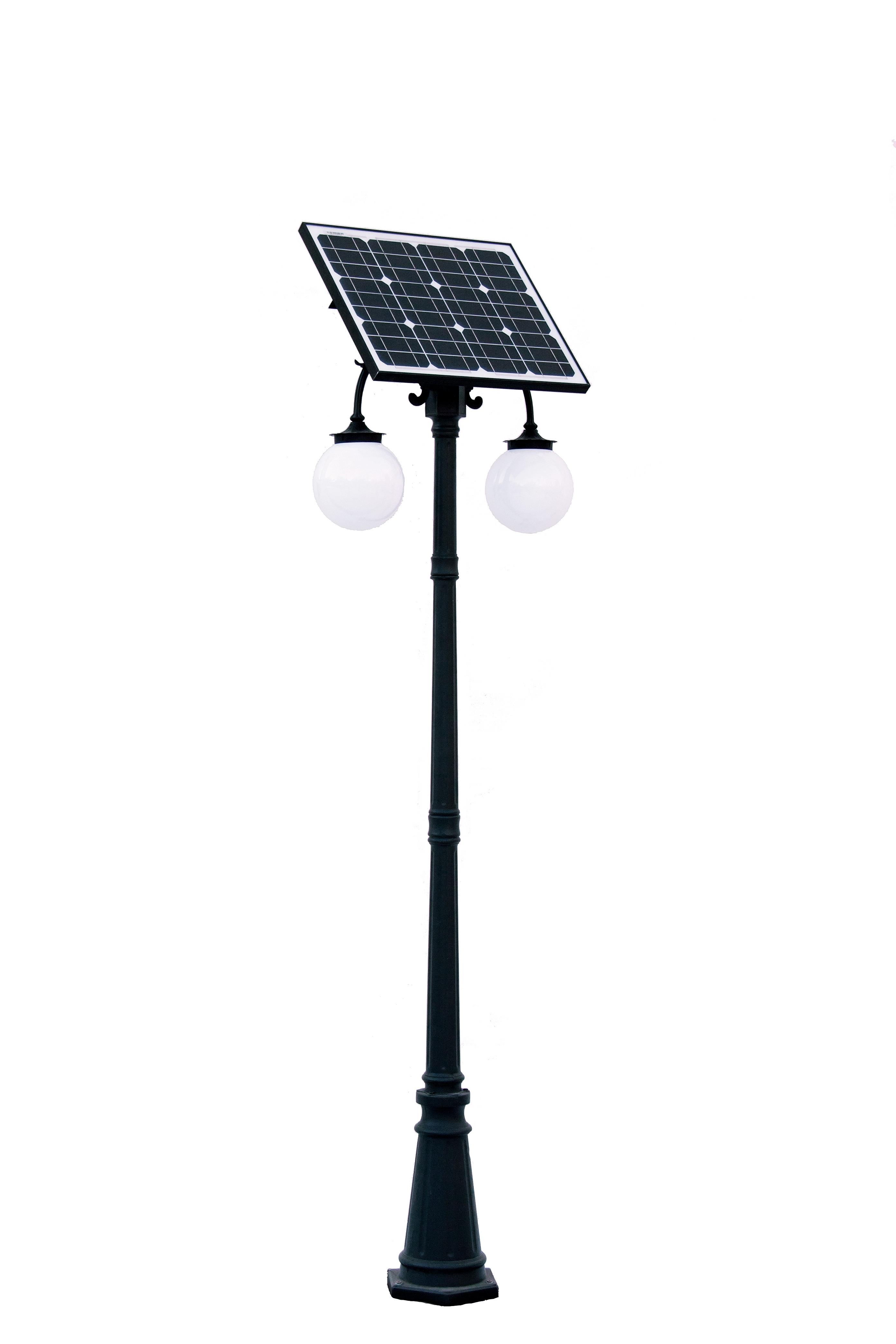 Aktualne Ogrodowa lampa solarna duża 3,00m WM75